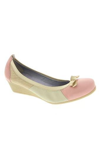 modabella chaussures femme de couleur rose
