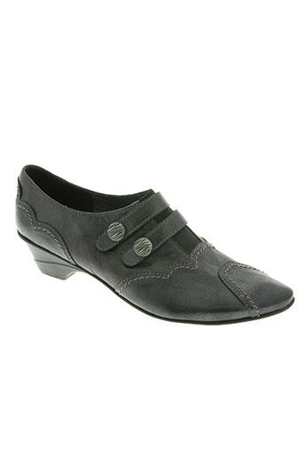 metayer chaussures femme de couleur gris