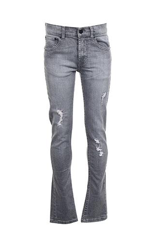 levis jeans garçon de couleur gris