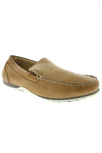 yimaida chaussures homme de couleur marron
