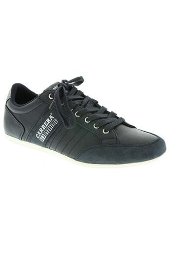 carrera chaussures homme de couleur bleu