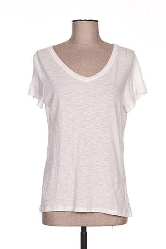 it hippie t-shirts femme de couleur blanc