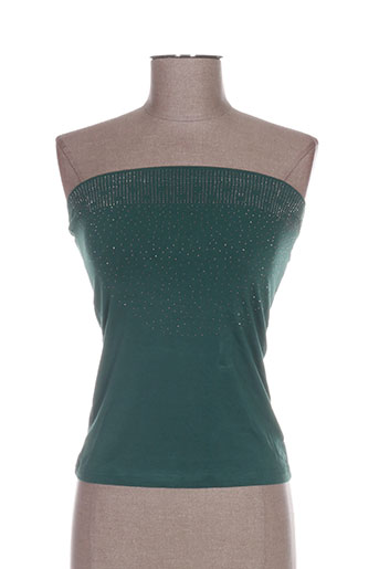 conos chemises femme de couleur vert