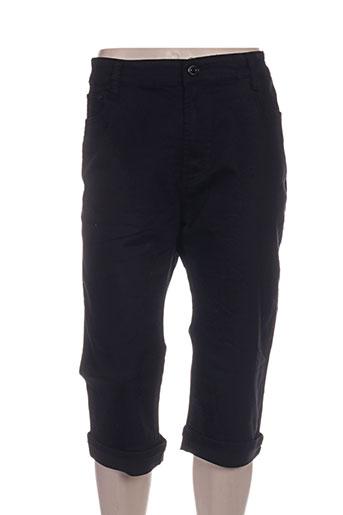 miss one shorts / bermudas femme de couleur noir