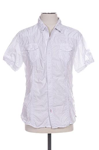 forex chemises homme de couleur blanc