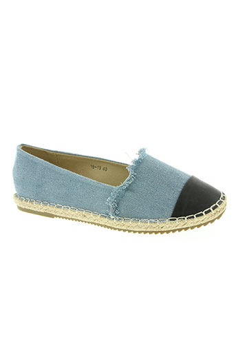 queen vivi chaussures femme de couleur bleu
