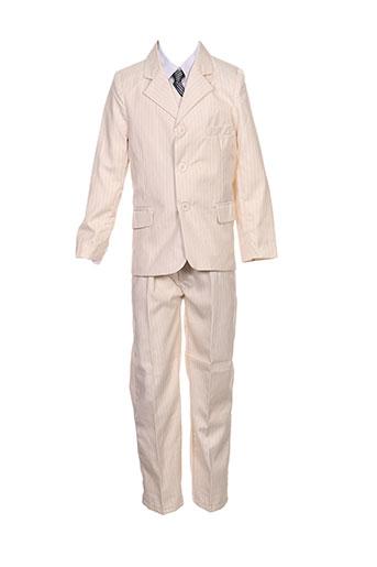 Veste/pantalon beige LES VOILIERS pour garçon