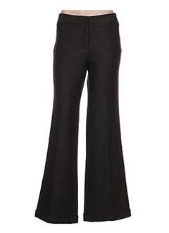 Pantalon casual vert BURBERRY pour femme