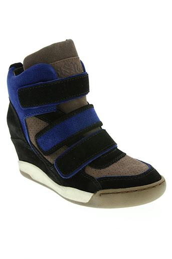 ash chaussures femme de couleur bleu