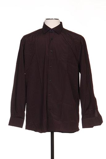 louis victor chemises homme de couleur rouge