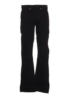 Pantalon casual noir FULL BLUE pour homme