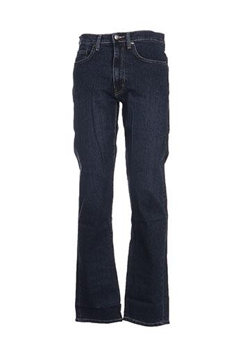 full blue jeans homme de couleur bleu