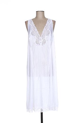 éliane jupes femme de couleur blanc