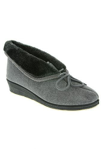 semelflex chaussures femme de couleur gris