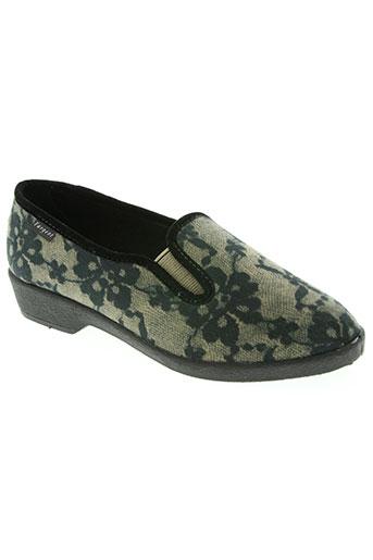 fargeot chaussures femme de couleur gris