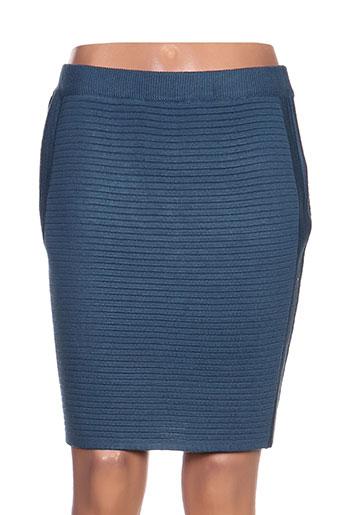 define jupes femme de couleur bleu