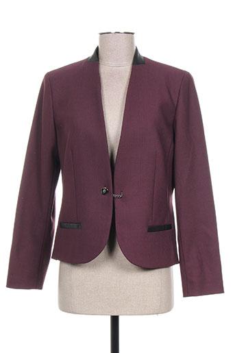 weinberg vestes femme de couleur violet
