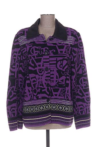 pauporté vestes femme de couleur violet