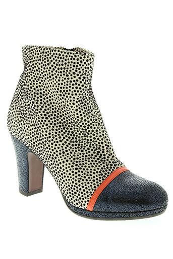 chie mihara chaussures femme de couleur beige
