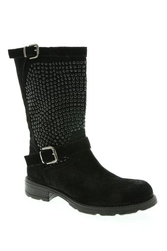 now chaussures femme de couleur noir