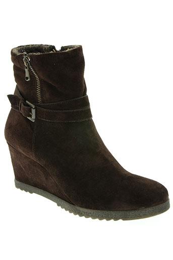 tosca blu chaussures femme de couleur marron