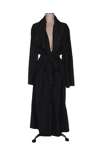 ecru manteaux femme de couleur noir