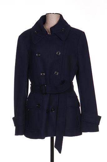 mexx manteaux femme de couleur bleu