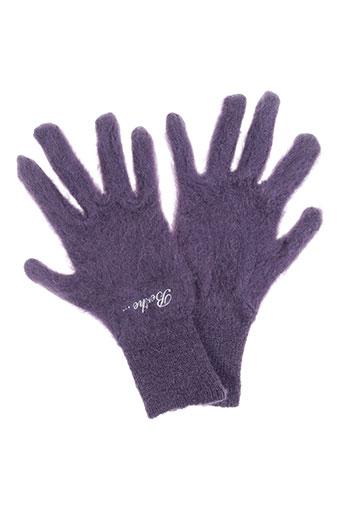 berthe aux grands pieds accessoires femme de couleur violet