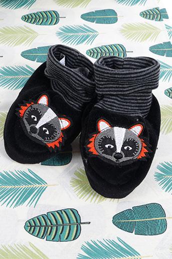 Chaussettes noir MILK ON THE ROCKS pour garçon