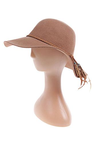 palme accessoires femme de couleur marron