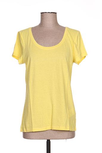 daniel hechter t-shirts femme de couleur jaune