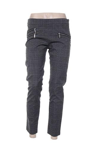 pepe jeans pantalons femme de couleur gris
