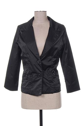 original ado vestes femme de couleur noir