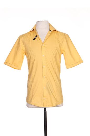 venti chemises homme de couleur jaune