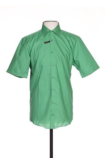 venti chemises homme de couleur vert
