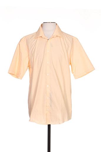 venti chemises homme de couleur orange