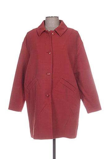 des petits hauts manteaux femme de couleur orange