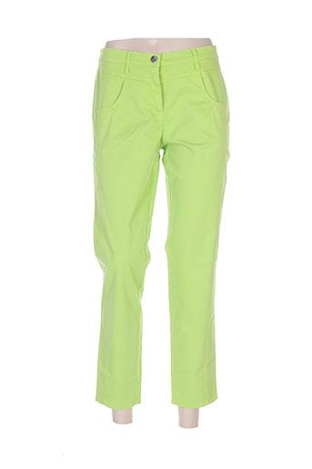 tuzzi pantacourts femme de couleur vert