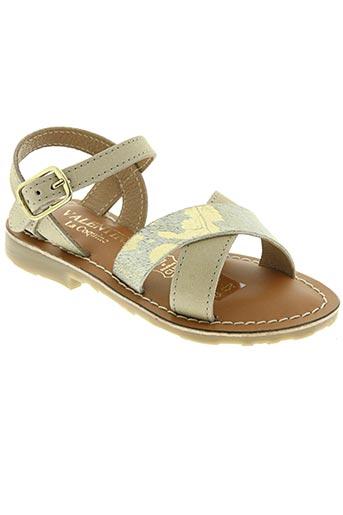 valentine la coquine chaussures fille de couleur beige