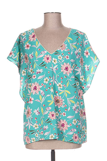 vintage love chemises femme de couleur vert