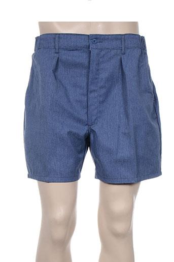 laboureur shorts / bermudas homme de couleur bleu