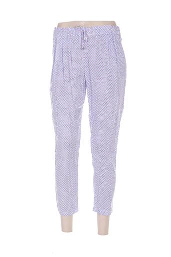 goa pantalons femme de couleur bleu