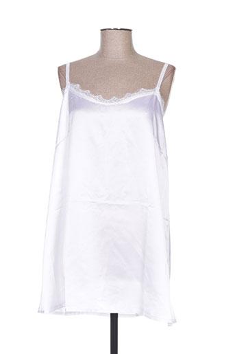 h-3 chemises femme de couleur blanc