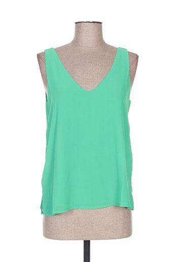 akoz de toi chemises femme de couleur vert