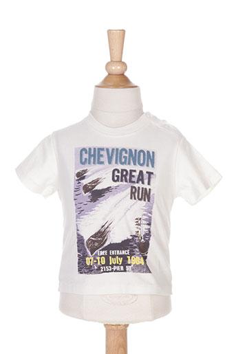 T-shirt manches courtes beige CHEVIGNON pour garçon