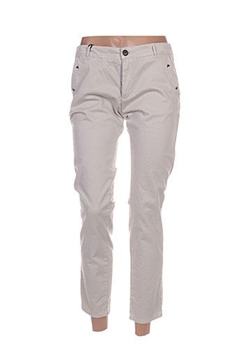 hod pantalons femme de couleur gris
