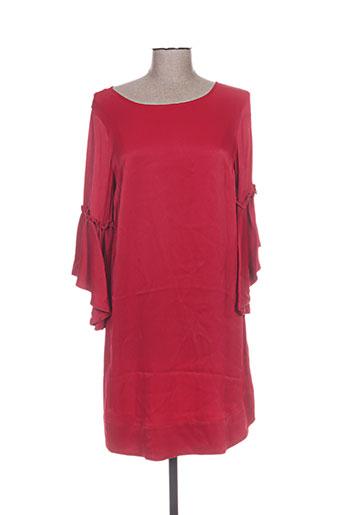 mos mosh robes femme de couleur rouge