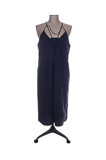 by zoe robes femme de couleur bleu