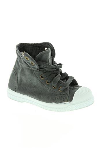 natural world chaussures enfant de couleur gris