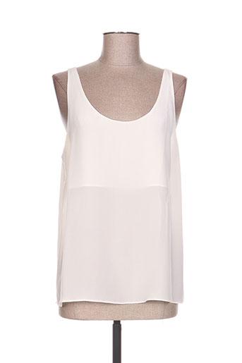 tara jarmon t-shirts femme de couleur beige